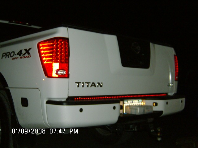 I Need New Led Tail Lights Nissan Titan Forum