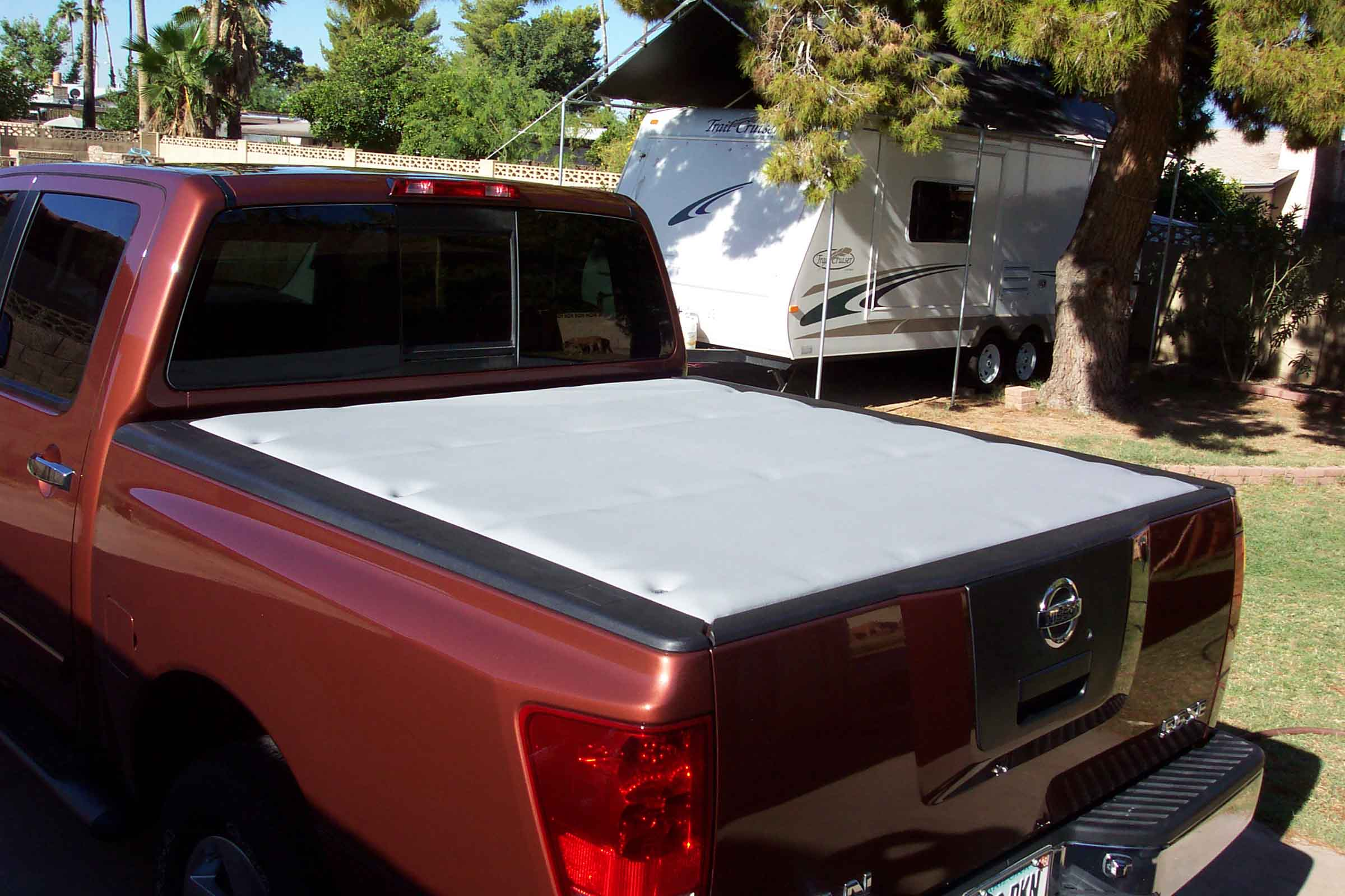 another home-built bed cover - nissan titan forum