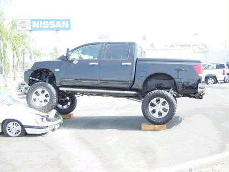 Pictures Of Lifted Trucks Nissan Titan Forum