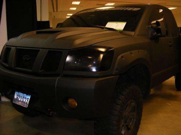 Really Murdered Out Nissan Titan Forum