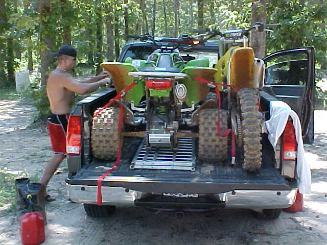 Yes 1 Atv Amp 1 Dirt Bike Will Fit In A Cc Nissan Titan Forum