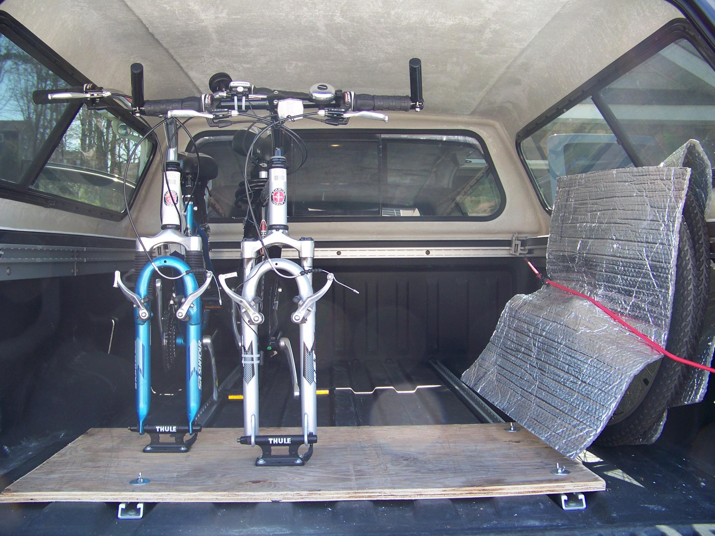Diy Bike Rack For Less Than 30 Nissan Titan Forum