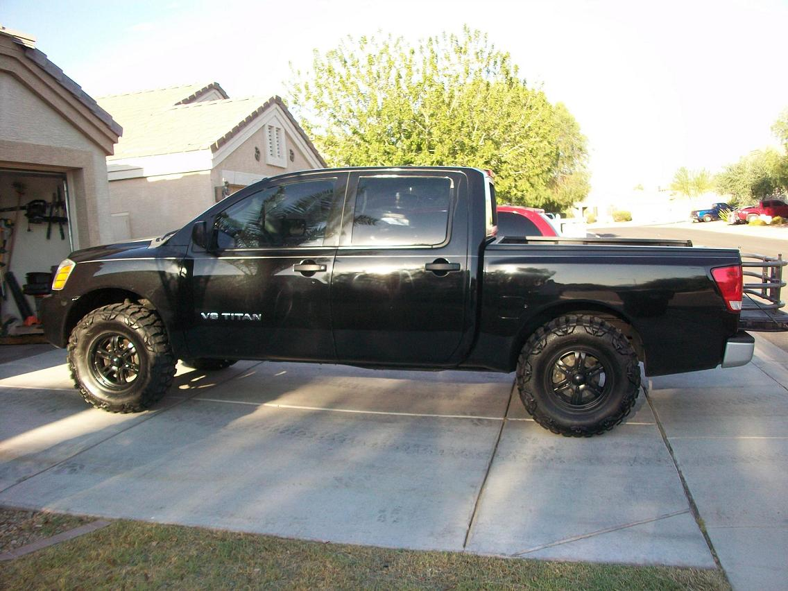 What Size Tires For 3u0026quot; Leveling Kit? Nissan Titan After