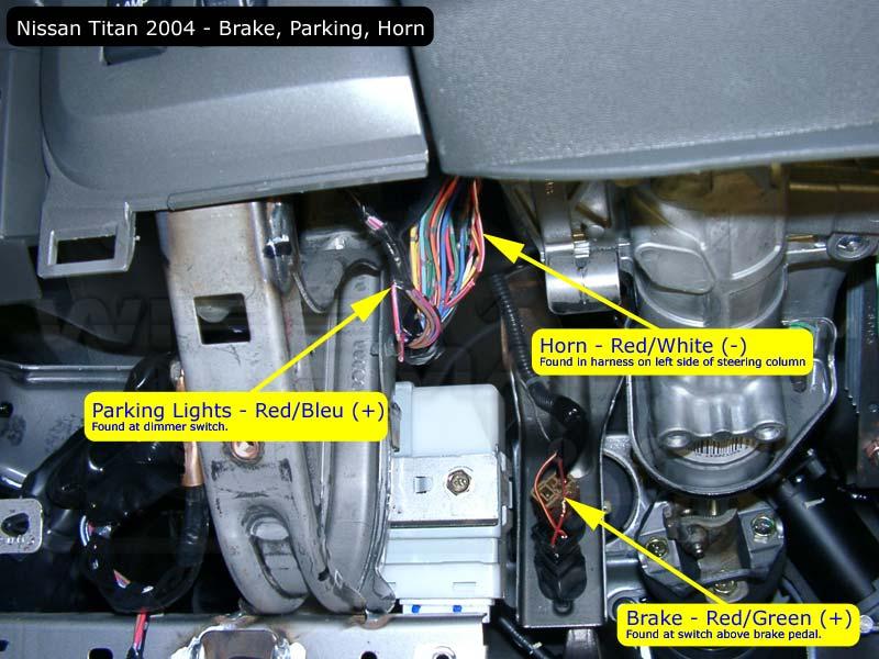 Remote Start Help Needed Please Nisstitan Brakeparkhorn on 2006 Nissan Armada Parts
