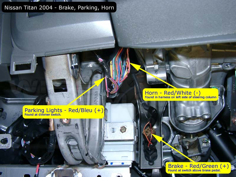 Remote Start Nissan Titan Forumrhtitantalk: Remote Starter Installation Locations At Gmaili.net