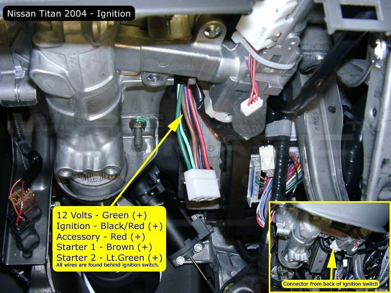 remote start help101 needed please nissan titan forum 2005 Nissan Titan Starter