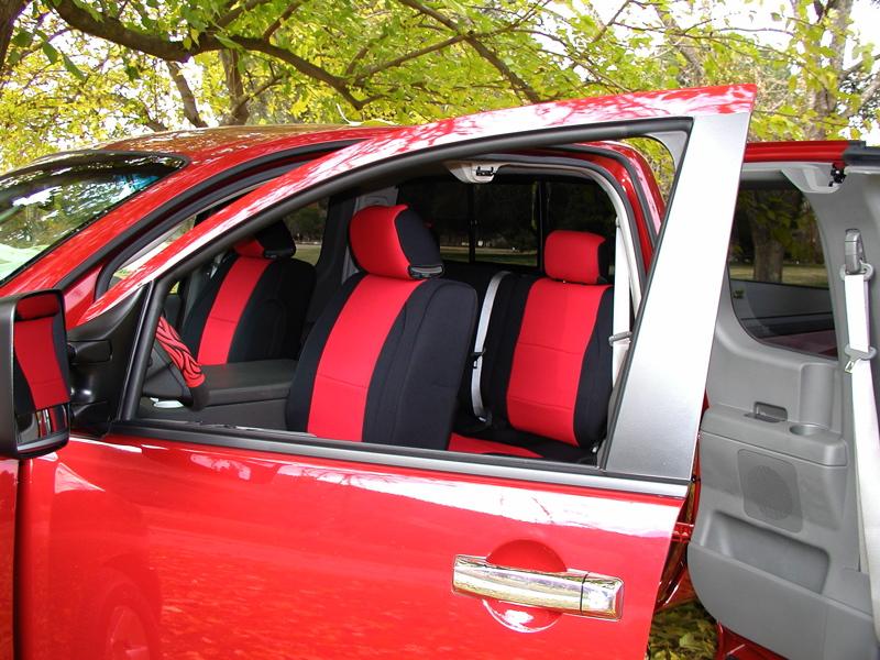 Neoprene Vs Leatherette Seatcovers Nissan Titan Forum