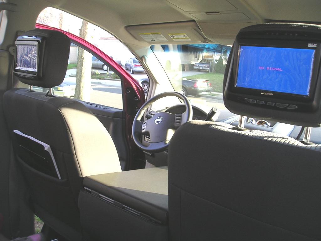 Dvd Headrest Monitors Install Made Easy Nissan Titan Forum Monitor Wiring Harness P1010127