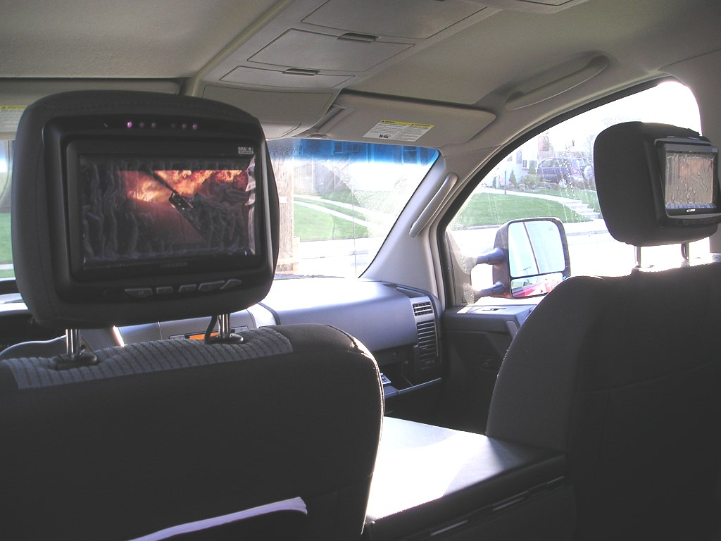 Dvd Amp Headrest Monitors Install Made Easy Nissan Titan Forum