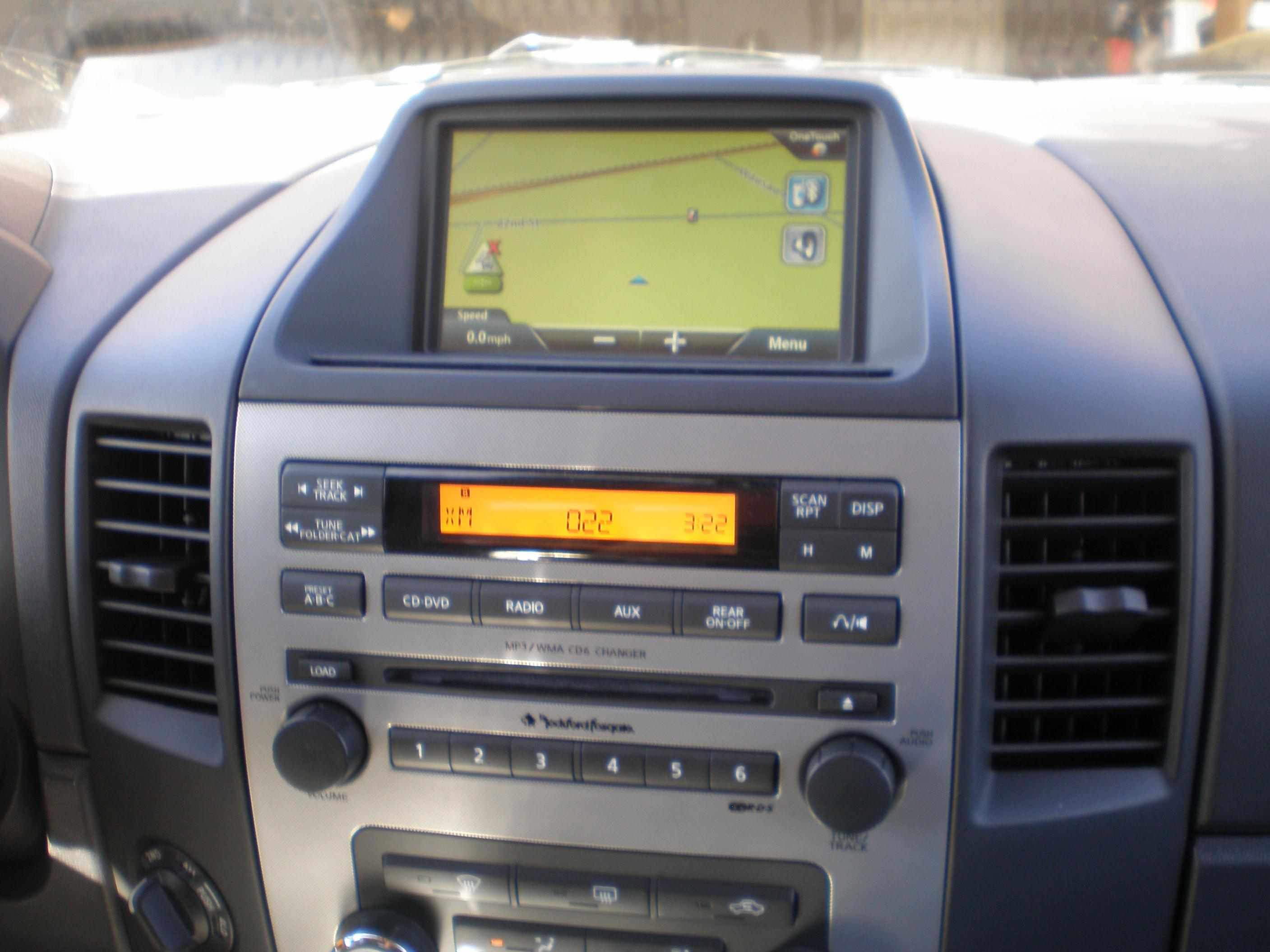 Nav Install Swap With Factory Bezel Nissan Titan Forum