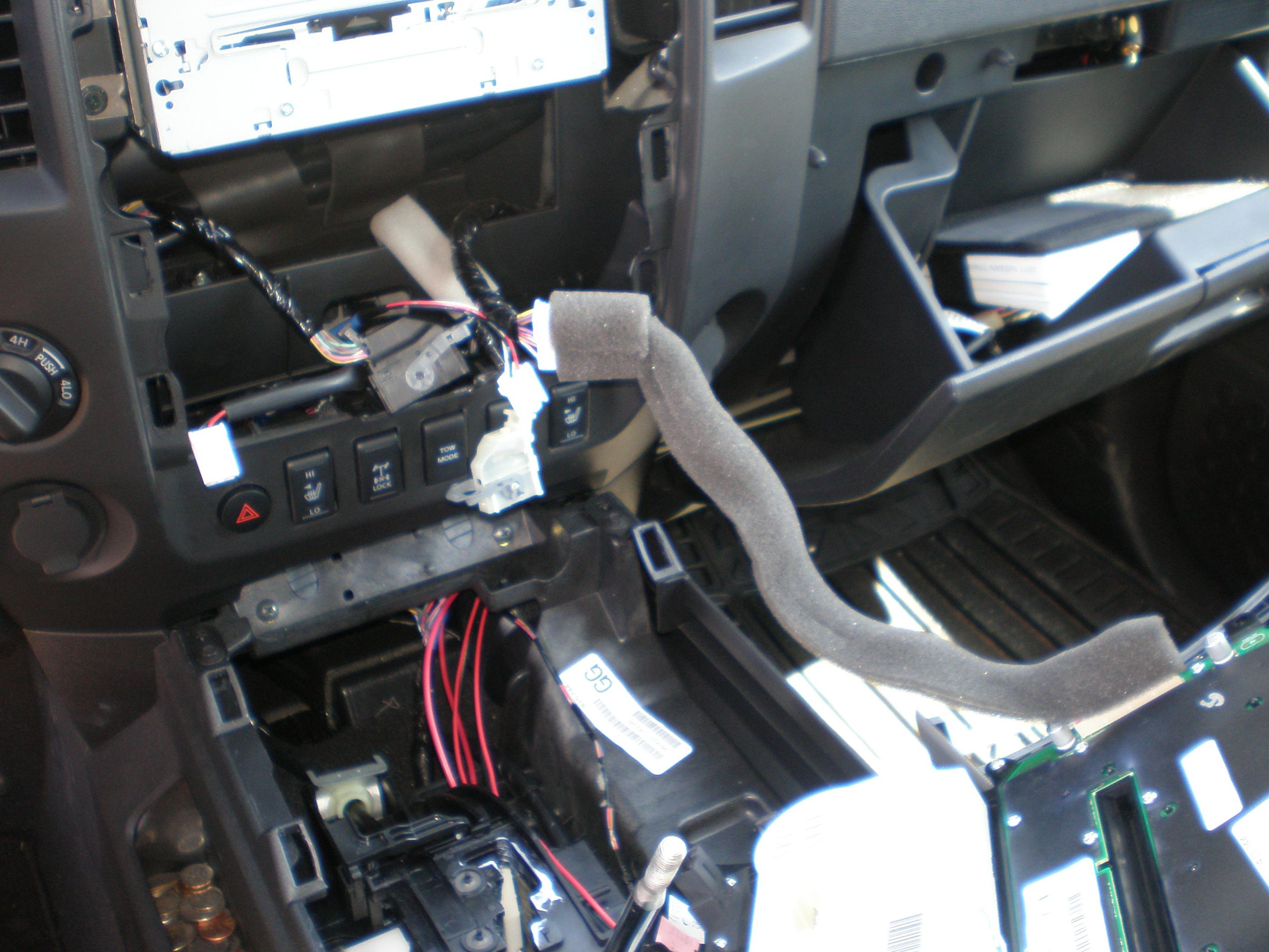 Yuba City Nissan >> Nav Install Swap with Factory Bezel - Nissan Titan Forum
