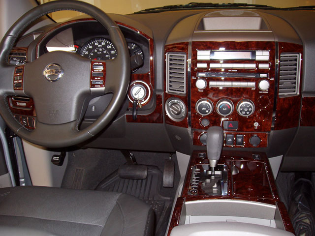 2004 Nissan Titan Interior Parts