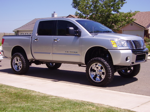 6 inch lift with 33 or 35 39 s nissan titan forum. Black Bedroom Furniture Sets. Home Design Ideas