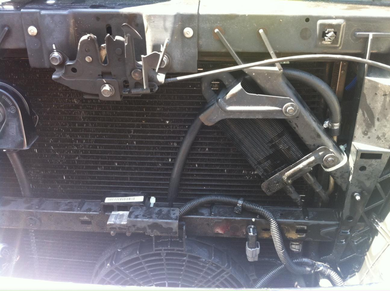 Radiator Bypassed Transmission Fluid Nissan Titan Forum