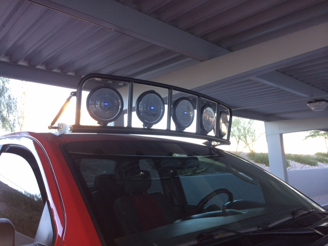 Custom Roof Mounted Light Cage Completed Nissan Titan Forum