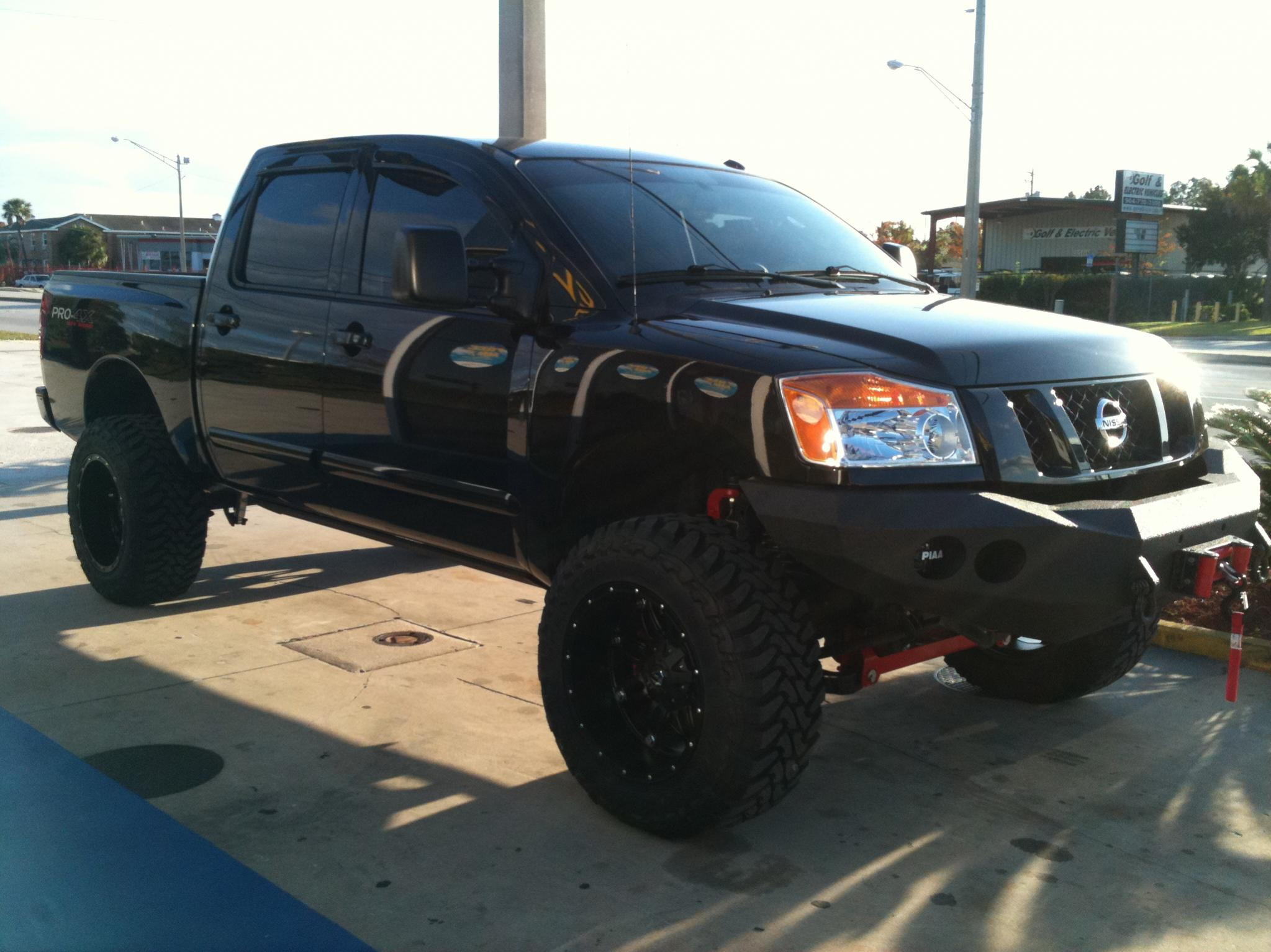 Nissan Titan Lifted Related Images Start 150