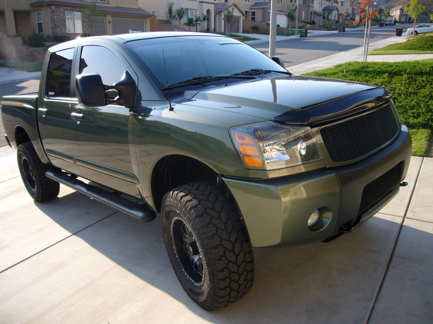 Green Machine Mods Nissan Titan Forum