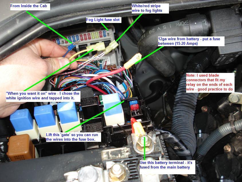 37807d1171552607 fog light mod w o parking lights simple pic4 fog light mod on with or w o parking lights simple nissan  at mifinder.co
