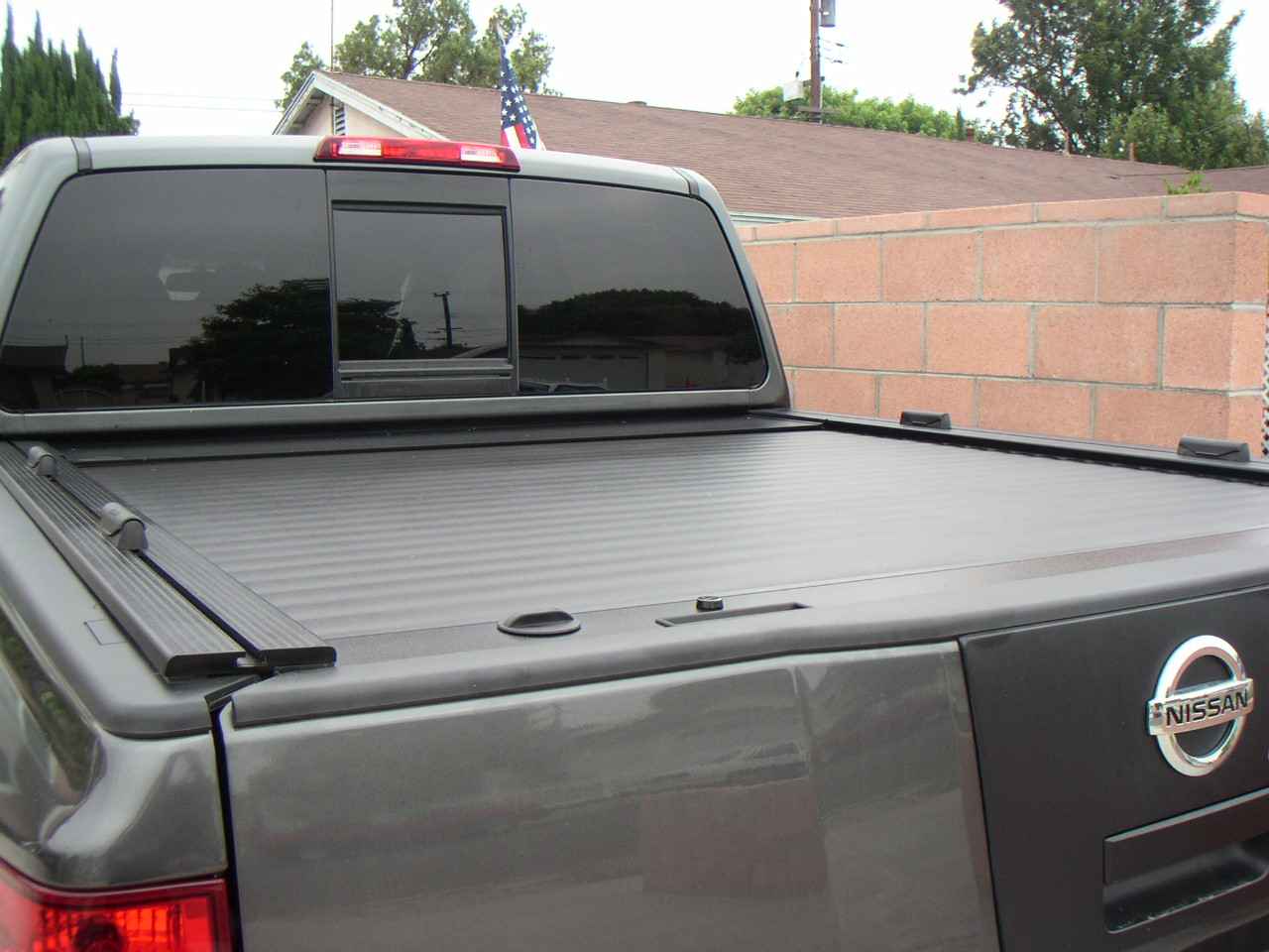 Mounting A Bike Rack Over A Soft Cover Nissan Titan Forum