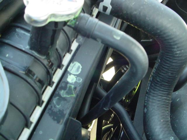D Coolant Overflow Hose Leak Radiator Picture