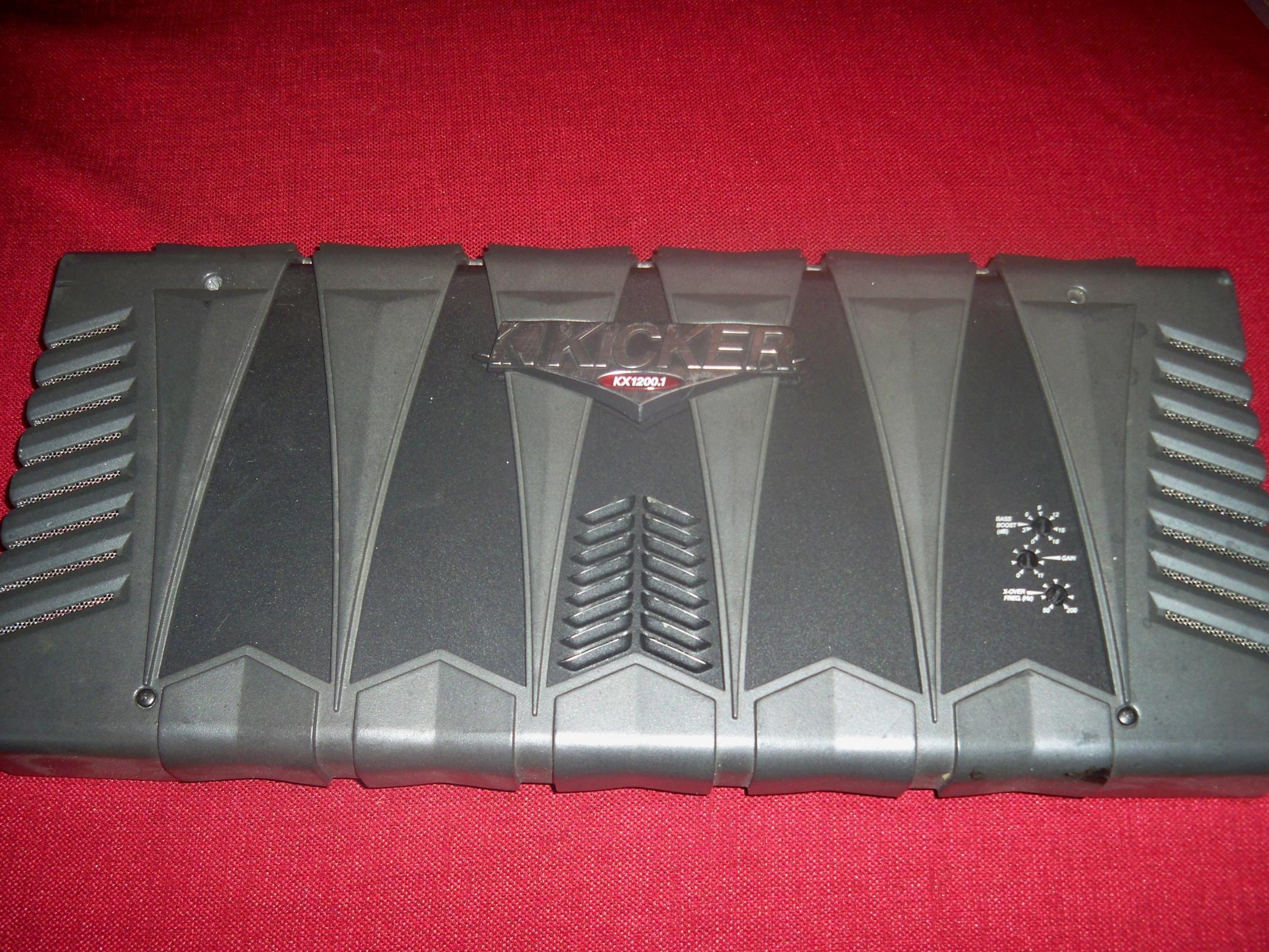 Kx1200 1 kicker amp