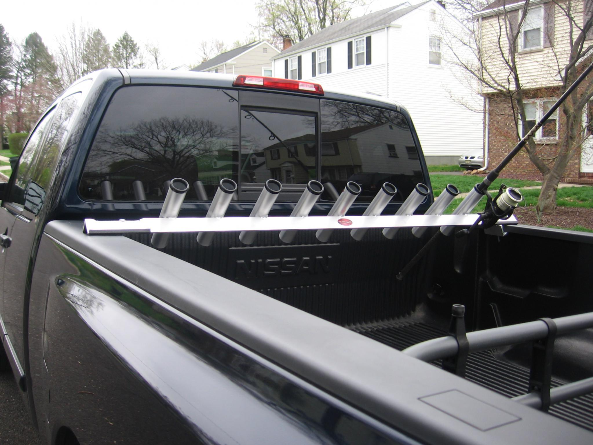 Quot Rocket Launcher Quot Rod Holder Nissan Titan Forum