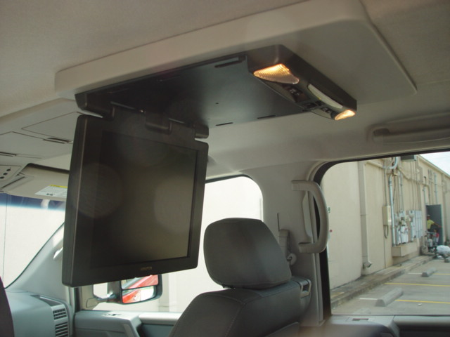 Mobile Theater Options Overhead Dvd Player Nissan