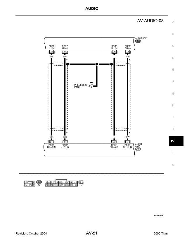 Rockford Fosgate System Wiring Schematic Fyi Nissan Titan Forum