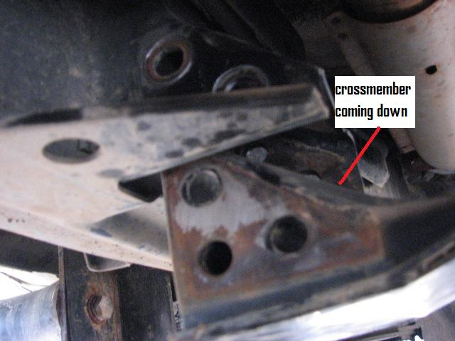 Transmission Mount Replacement - Nissan Titan Forum