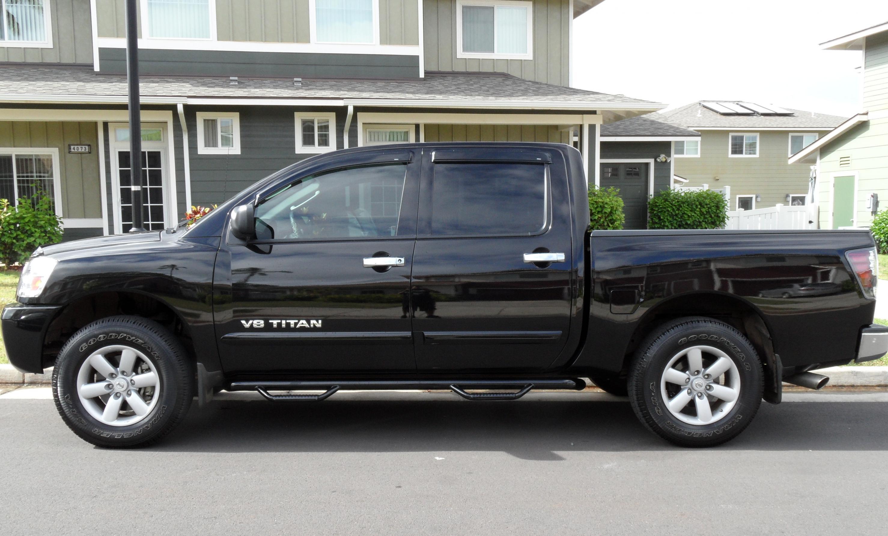Bullet Proof Tires >> 2.5 inch leveling kit ? - Nissan Titan Forum