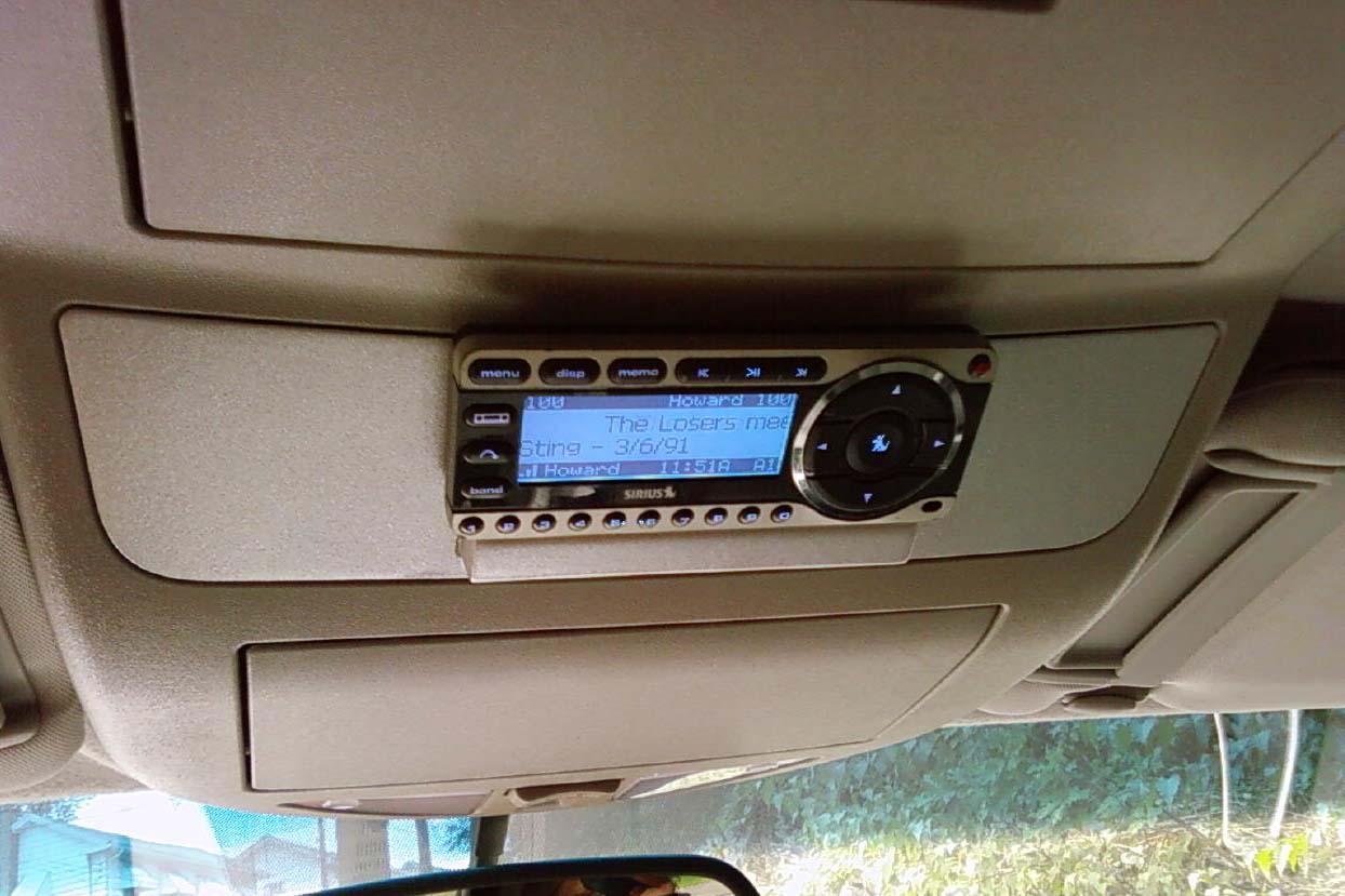 Aftermarket sirius radio