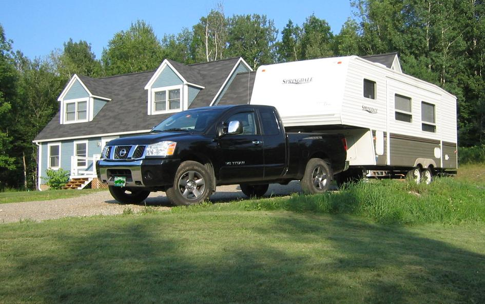 Mods for towing? - Nissan Titan Forum