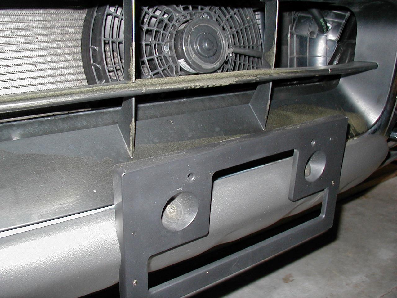 Front License Plate Installation - Nissan Titan Forum