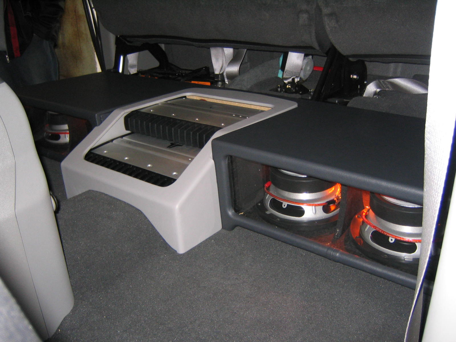 Jl Audio Stealth Box Tor Titan Crew Cab Nissan Titan Forum