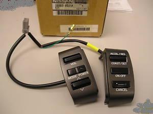 F S Steering Wheel Audio Amp Cruise Controls Nissan Titan