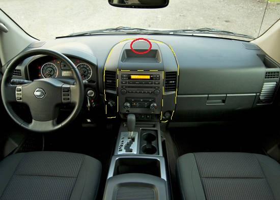 2004 nissan titan interior parts - Nissan titan interior accessories ...