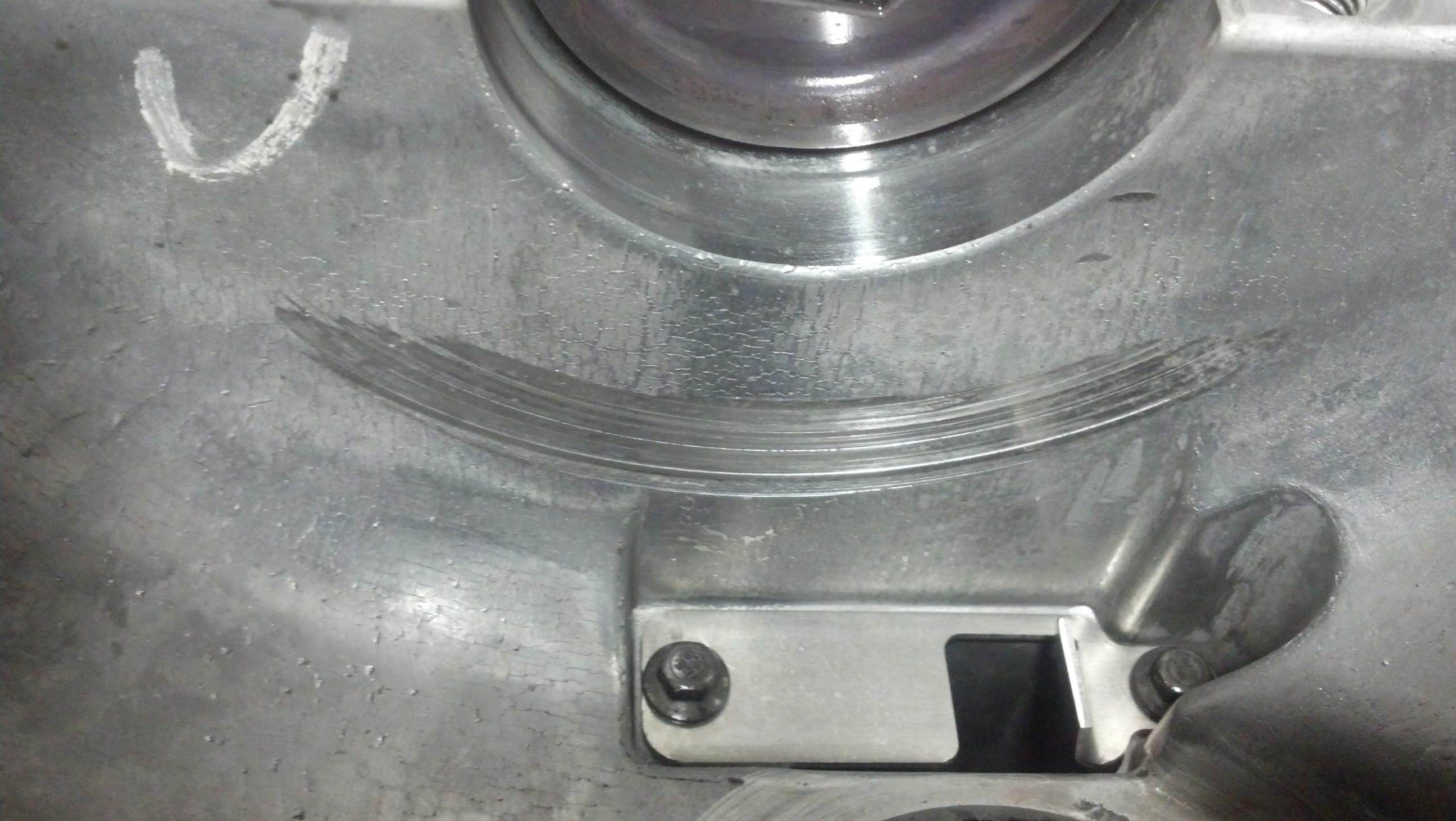 Front differential noise scraping howling titan front diff jpg