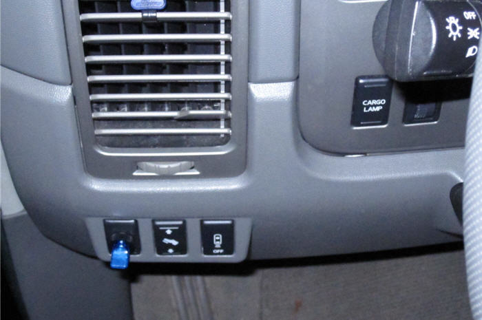 how to install a TOGGLE SWITCH, on off switch, light switch - Nissan ...