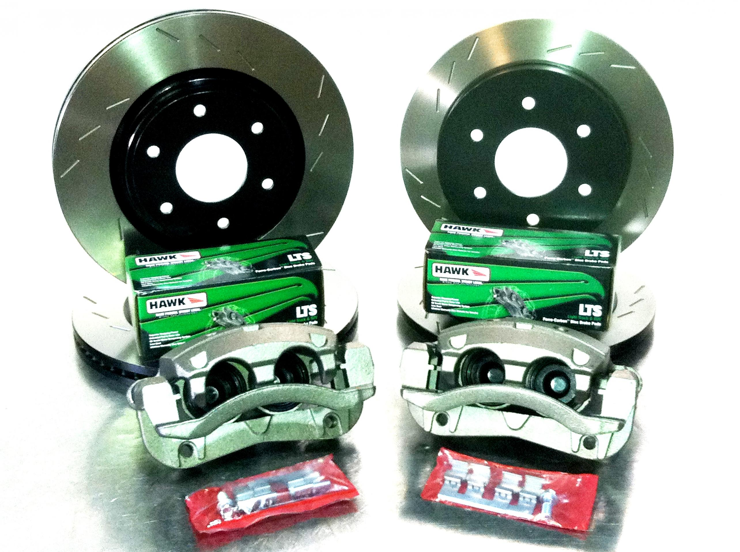 Early Titan 2008 Front Rotor Upgrade Kit Now Available Nissan Offroad Light Wiring 39s Forum Attachment 131088
