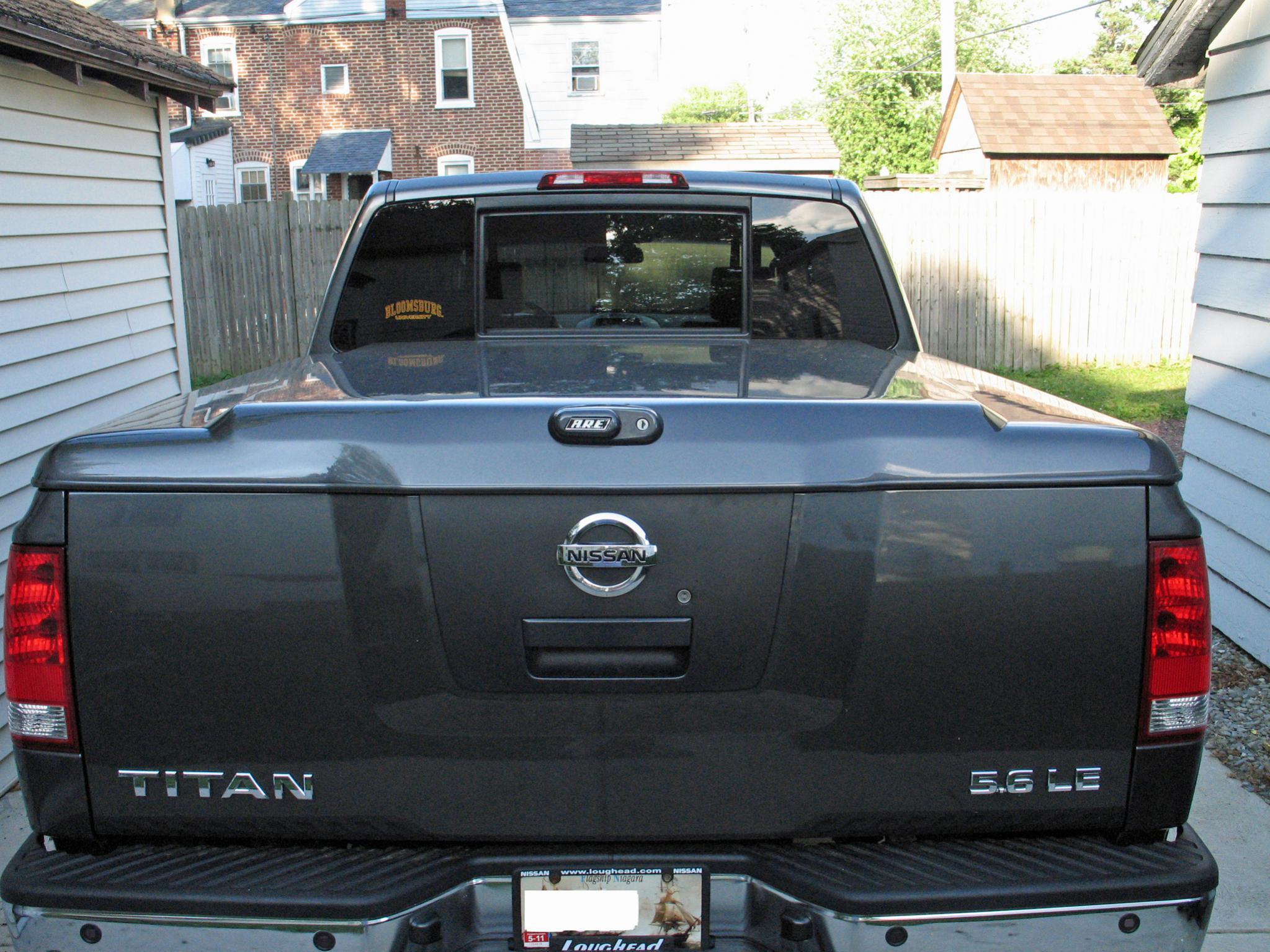 Fiberglass Tonneau Cover For Shortbed Titan   0 Tonneau Cover 2 ...