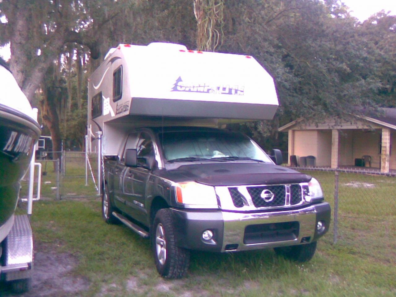 truck camper??? - Nissan Titan Forum