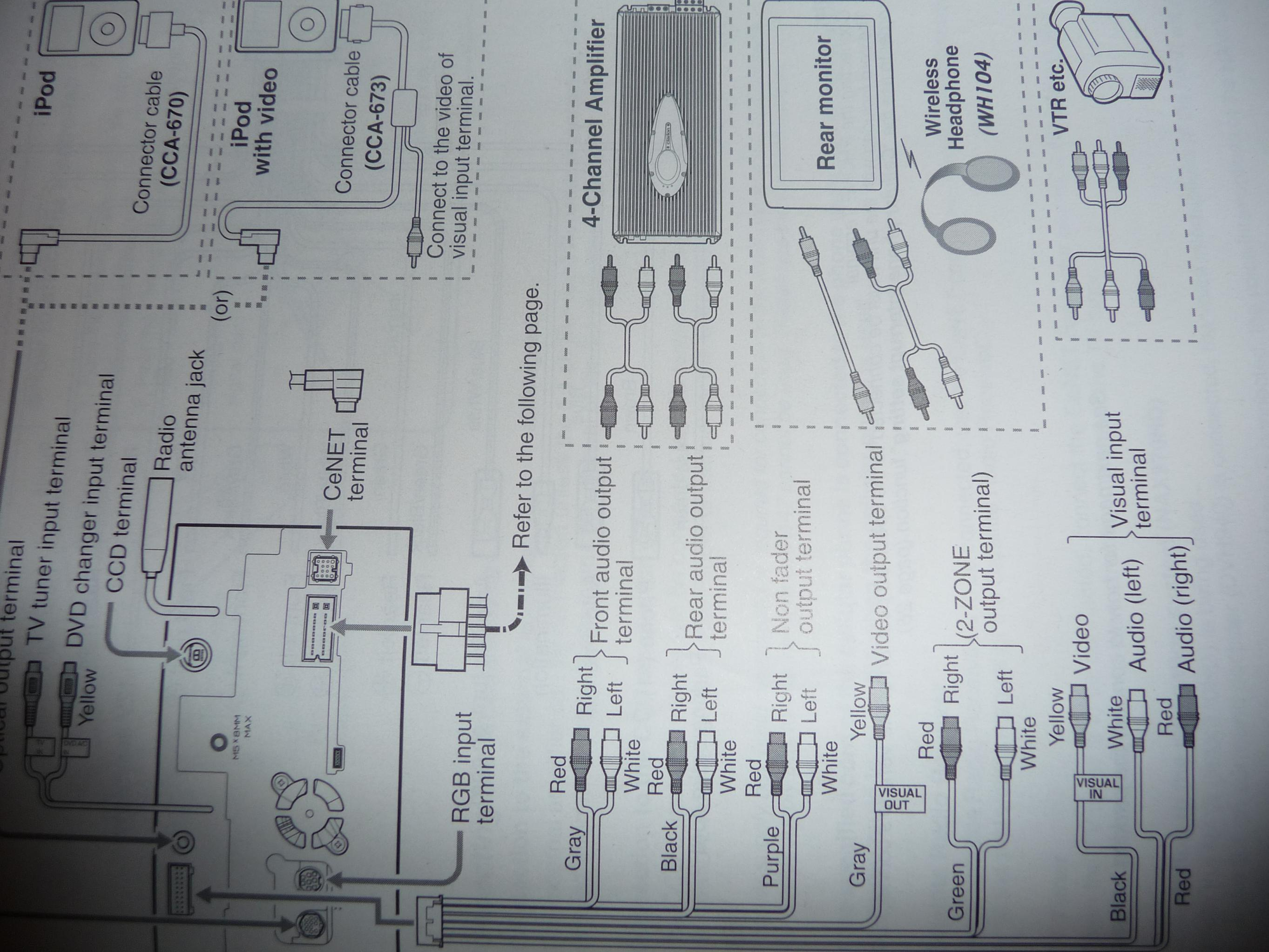 Clarion Max675vd Wiring Rca Diagram - Trusted Wiring Diagram
