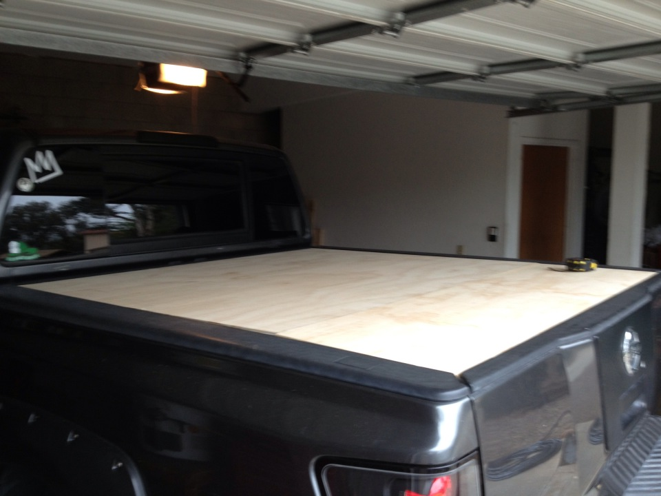 Wood Truck Tops ~ Diy wood truck bed cover do it your self