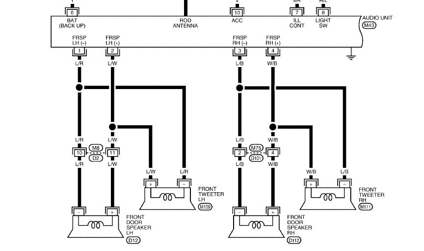 Speaker And Tweeter Wiring Diagram from www.titantalk.com