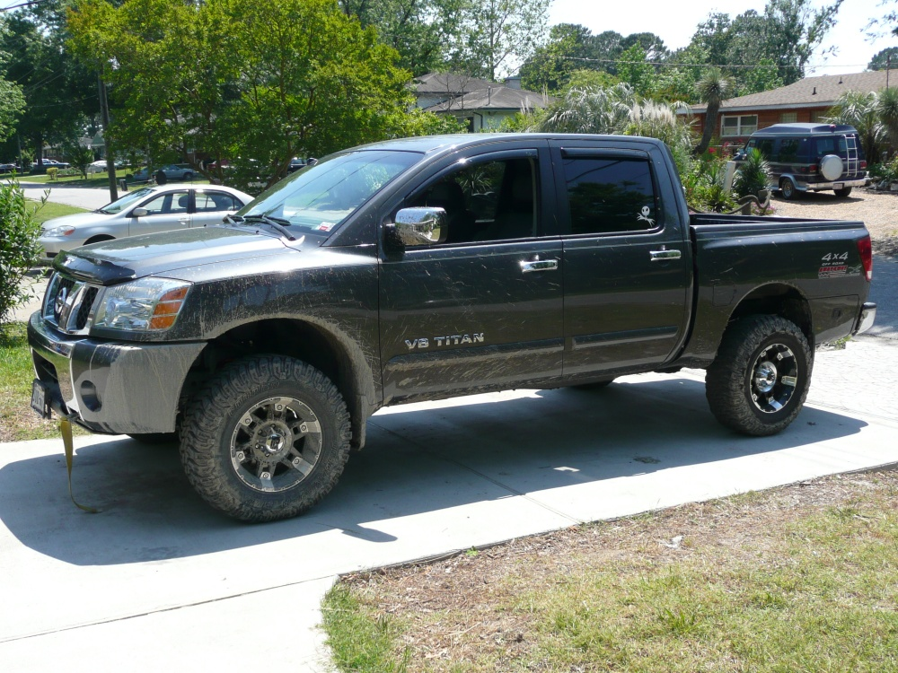 4 Inch Lift With 33 S Nissan Titan Forum