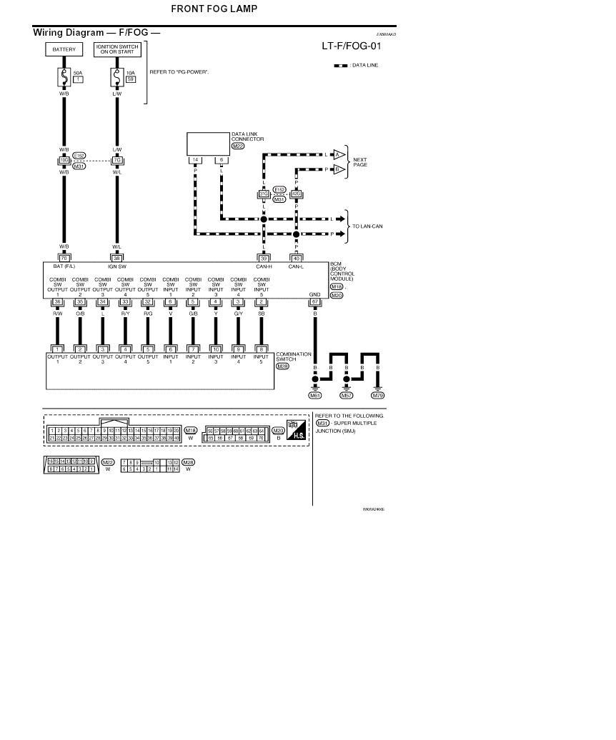 Nissan Lights Wiring Diagram Wiring Diagram 2006 Nissan Light Wiring Diagram Nissan Light Wiring Diagram