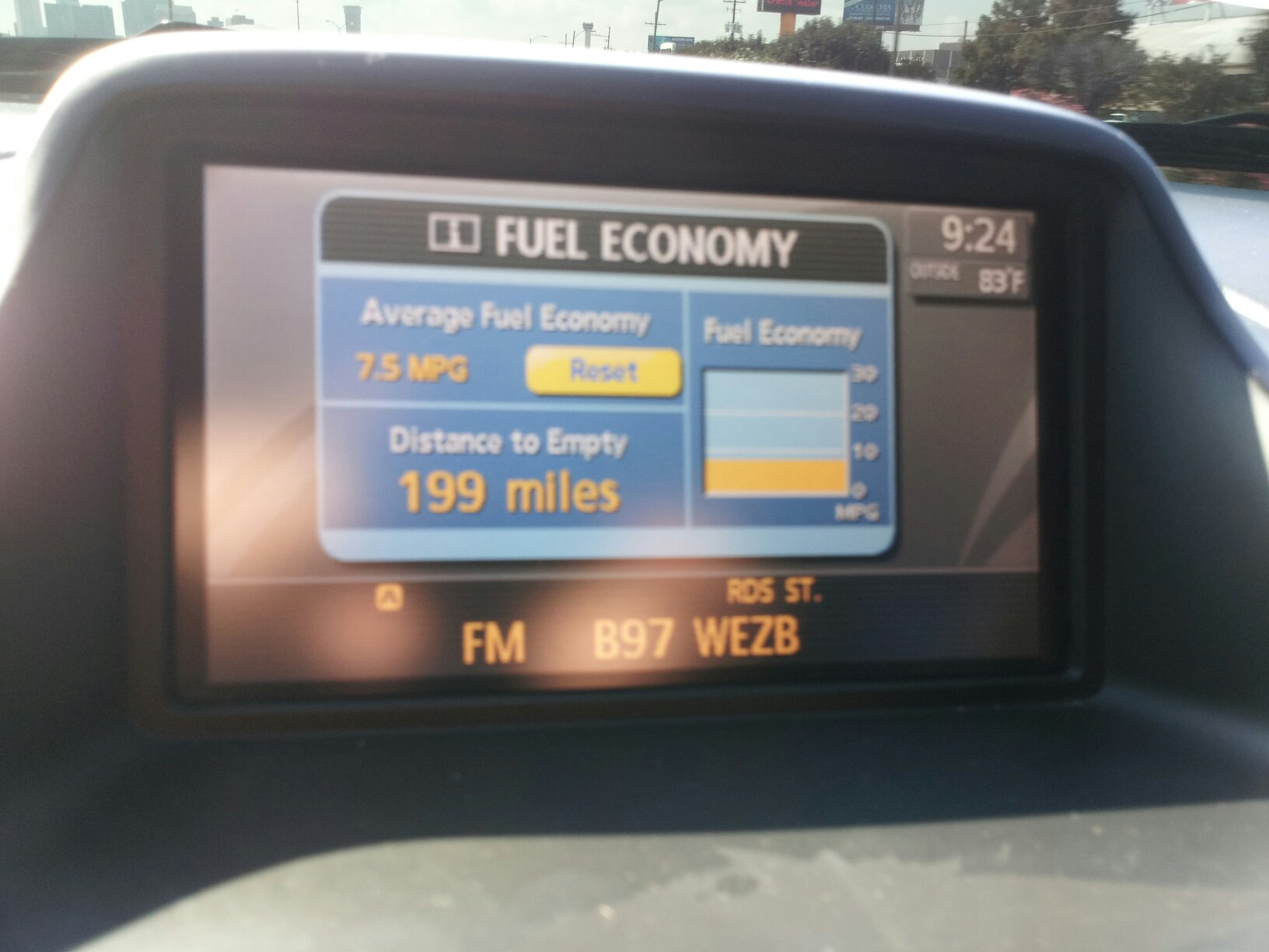 Fuel Gauge & distance to empty | Nissan Titan Forum
