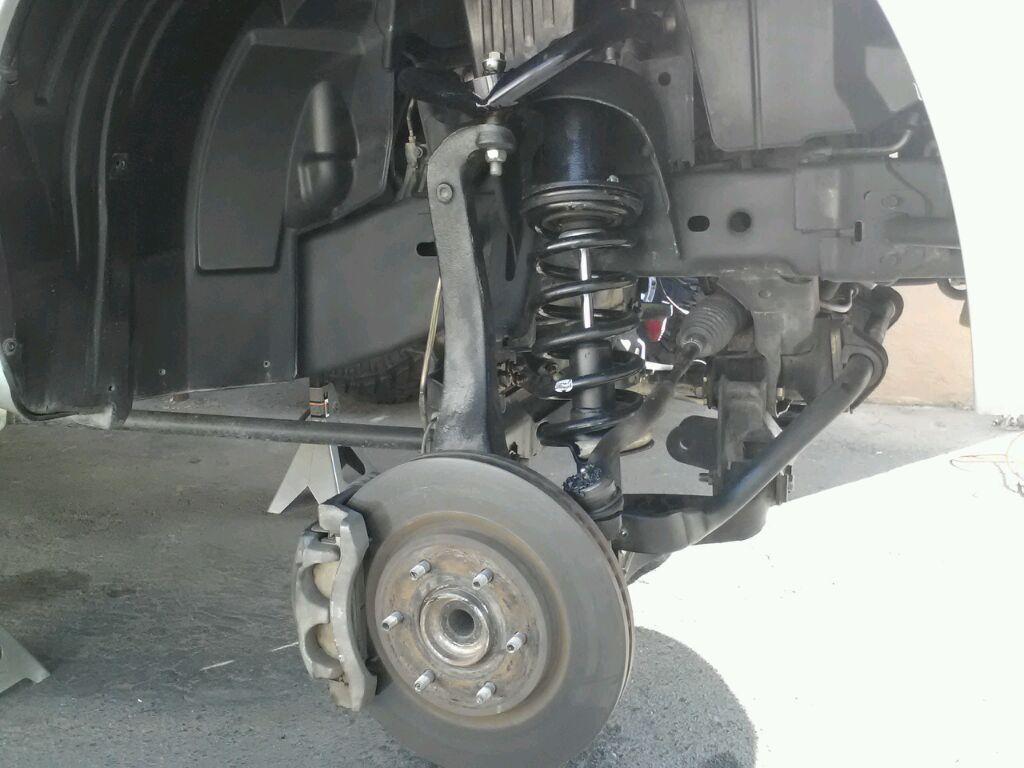 Lifted Nissan Titan >> Maxtrac 4 inch lift installed! - Nissan Titan Forum