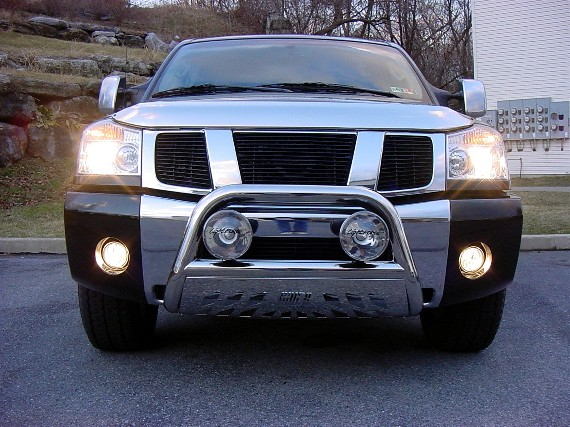 Aries bullbar lightforce lights installed nissan titan forum web titan bullbar lights aloadofball Image collections