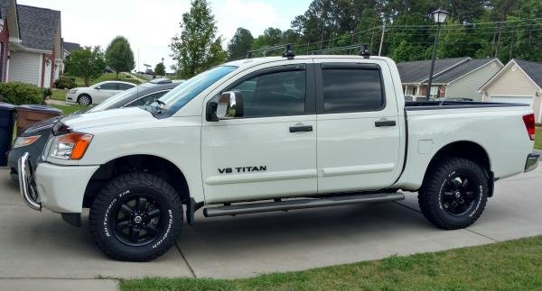 Showcase cover image for 2014 Nissan Titan SV 4x4